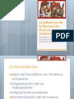 La influencia de la revolución rusa en América Latina