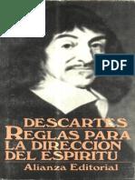 Descartes, Rene - Reglas Para La Direccion Del Espiritu