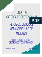 Geotecnia III, Anclajes, 2014, Parte 1