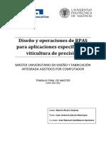 RICART - Diseño y Operaciones de RPAS Para Aplicaciones Específicas de Viticultura de Precisión.