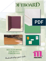 Masonite Softboard