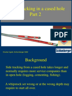 Side Tracking Cased Holes