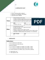 Guía de Acumetría y Audiometría