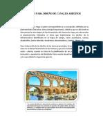 Criterios Para Diseño de Canales Abiertos Centrales 1