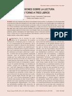Dialnet-ReflexionesSobreLaLecturaEnTornoATresLibros-4265953