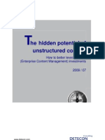 Detecon Opinion Paper The Hidden Potential of Unstructured Content