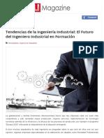 Lectura - El Futuro de La Ingenieria Industrial