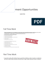 employment powerpoint