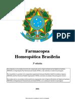 Homeopatica 3a Edicao Espanhol