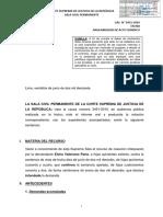 LP Casacion 3451 2016 Tacna