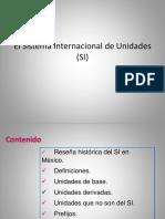 El Sistema Internacional de Unidades _1(SI)