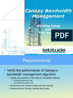 Canopy Bandwidth Management Test Results