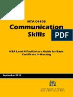 1Communication Skills. Opt