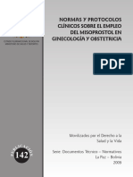 04 Bolivia Misoprostol Clinical Guidelines 2009