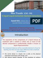 5 Liquid Liquid Extraction Solvent Extraction