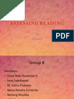 Assessing Reading Grup 8