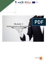 Modulo 3 - O Restaurante - Secções Anexas e Abastecedoras