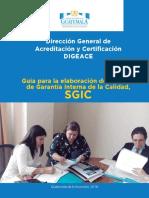 Manual de Procesos Del SGIC