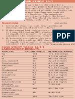 Lipids Case Studies