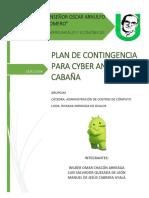 Admon de Cc - Plan de Contingencia