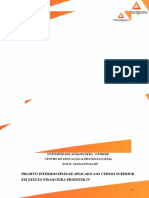 Prointer IV Relatorio Parcial