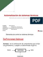 Aut. de Sistemas Térmicos Ppt 1