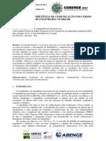 O ENSINO DA COMPETÊNCIA DE COMUNICAÇÃO NOS CURSOS DE ENGENHARIA NO BRASIL