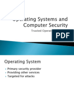 IT3004 - Operating Systems and Computer Security 06 - Trusted Operating Systems.pptx