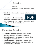 IT3004 - Operating Systems and Computer Security 01 - Concepts