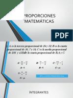PROPORCIONES MATEMÁTICAS 1.pptx
