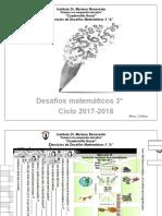 Cuadernillo Anual Desafíos Matemáticos TEERCERO