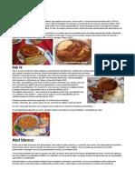 5 Platios Tipicos Informacion No Receta