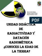 Unidad Didáctica de radiactividad