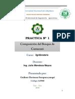 Composición del Bosque del CIP Camacani