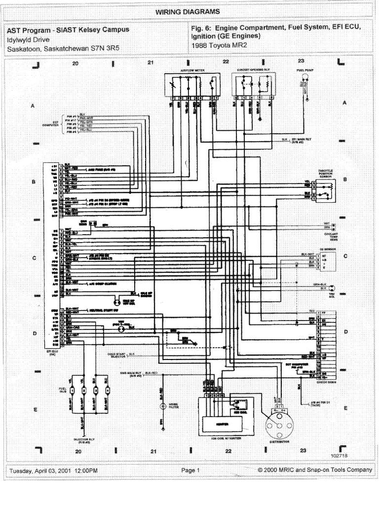 Cdd33169 Toyota Diagrams Mr2 Corolla 1988 Wiring Diagram