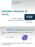 Centroide e Momento deInercia