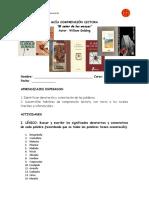 GUIA EL SEÑOR DE LAS MOSCAS.doc