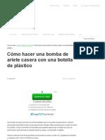 Cómo hacer una bomba de ariete casera con una botella de plástico.pdf
