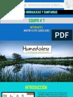OBRAS HIDRÁULICAS Y SANITARIAS-HUMEDALES