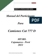 Manual Del Participante - Camiones 777 D