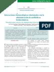 Interacciones Farmacologica