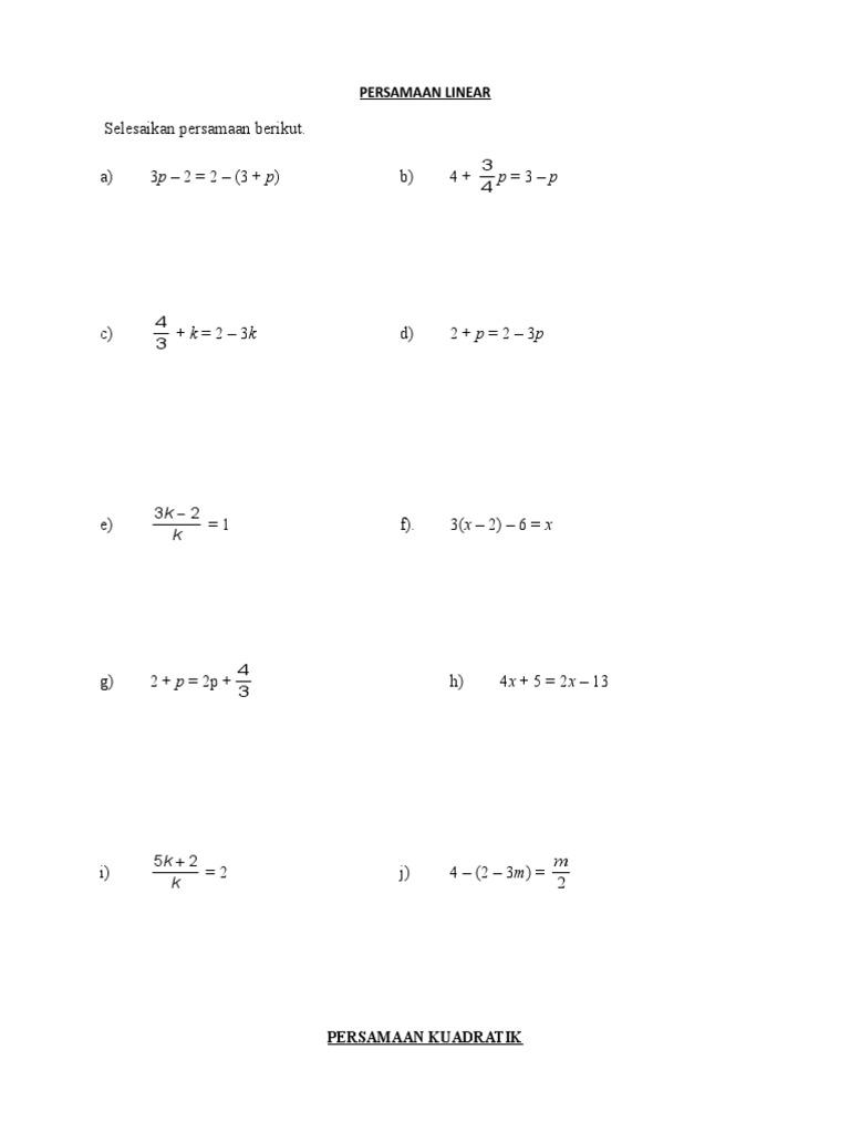 Latih Tubi Ting 4 5 Matematik