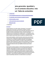 Igualdad y Diferencia en El Contexto Educativo.dussel