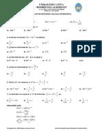 Talleres Ausencia Cálculo Diferencial 3bgu