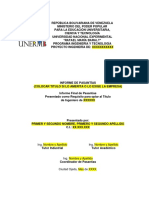 Estructura Del Informe de Pasantías (1)