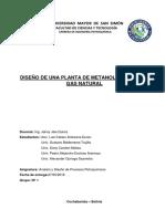 PROYECTO DISEÑO DE UNA PLANTA DE METANOL A PARTIR DEL GAS NATURAL PQMC SACTA UMSS.docx
