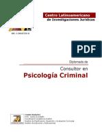 Diplomado Psicologia Criminal
