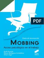 Mobbing. Acoso Psicológico en El Trabajo - Escartín Jordi