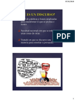 1 Definición de Discurso