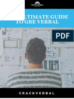 The Ultimate Guide To Prepare For GRE Verbal Section-CrackVerbal